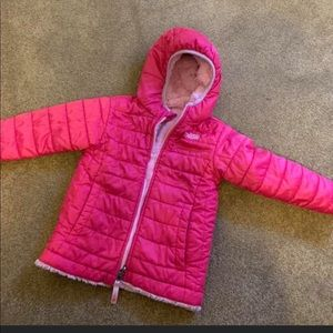 Girls north face jacket